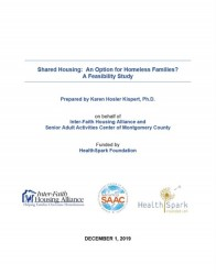 Shared Housing report cover