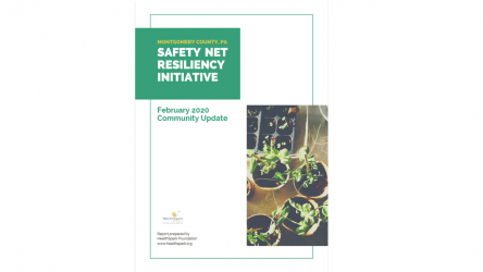 Report cover of Safety Net Resiliency Initiative Community Update Report