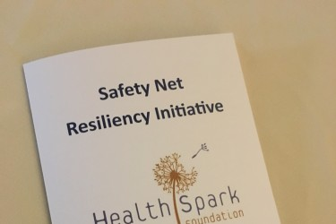 Safety Net Resiliency Initiative program cover