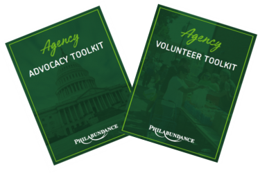 Pantry advocacy volunterr toolkit covers