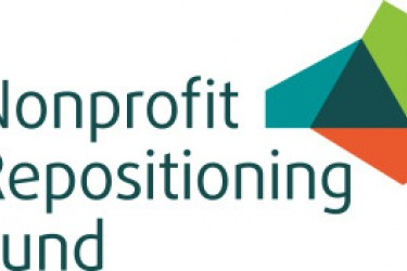 "Graphic logo with the words, ""Nonprofit Repositioning Fund"" on the left"